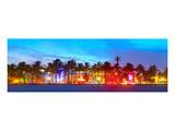Miami Beach Sunset Ocean Drive Print