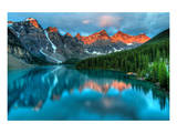 Peak Color Moraine Lake Banff Print