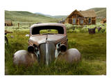 Historic Car -Bodie Ghost Town Prints
