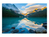 Lake Louise At Sunrise Banff Prints