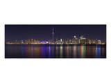 Toronto - City Night Panorama Posters