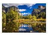 Yosemite Valley & El Capitan Poster