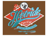 Hotride Retro Race Poster Prints