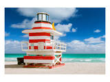 Miami Art Deco Lifeguard House Prints