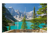 Moraine Lake Trail Banff Park Poster