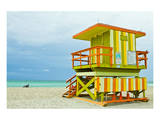 Lifeguard Tower South Beach FL Prints