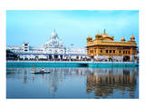 Sikh Golden Palace In India Posters