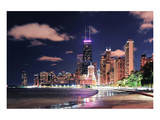 Chicago Skyscraper North Beach Print