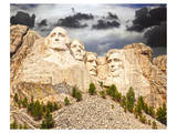Mount Rushmore South Dakota Art