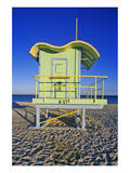 Lifeguard House South Beach FL Art
