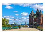 Chateau Frontenac Quebec City Posters