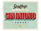 Welcome To San Antonio Prints