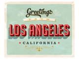 Welcome To Los Angeles Posters