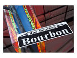 Bourbon Street Sign NewOrleans Art