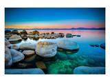 Rocks Lake Tahoe Sierra Nevada Prints