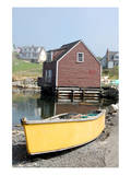 Boat & Dock Peggy's Cove NS Posters