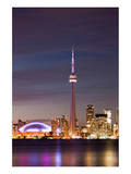 Toronto Illuminated Skyline Prints