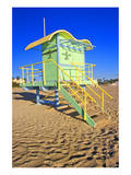 Lifeguard House South Beach FL Poster