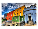 Colorful Houses-Dublin Castle Art