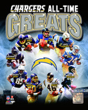 San Diego Chargers All-Time Greats Composite Photo