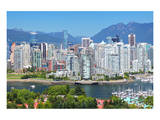 Vancouver In British Columbia Print