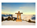 Stone Man on Mount Whistler Art