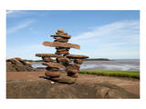Welcome Inukshuk Bay of Fundy Prints