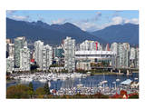 Vancouver Downtown False Creek Prints