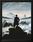 Vandrer over tåkehav, ca. 1818 Plakater av Caspar David Friedrich