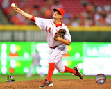 Mike Leake 2014 Action Photo