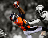 Emmanuel Sanders 2014 Spotlight Action Photo