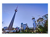 Downtown Toronto Park CN Tower Prints