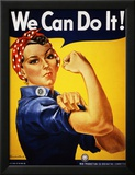 We Can Do It! (Rosie the Riveter) Art by J. Howard Miller