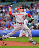 Mat Latos 2014 Action Photo