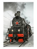 Soviet Steam Locomotive I Prints