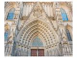 Barcelona Sagrada FamiliaGate Prints