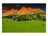 Italian Alps Rosengarten Group Prints