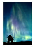 Inukshuk & Northern Lights Prints