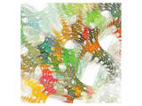 Colorful Abstract Lattice Prints
