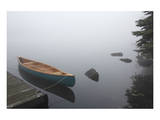 Canvas Cedar Canoe Haliburton Print