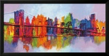 Abstract Manhattan Poster by Brian Carter