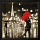A Paris Kiss Kunst af Kate Carrigan