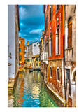 Canal & Villas Venice Italy Posters