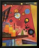 Kraftig rød Plakater af Wassily Kandinsky