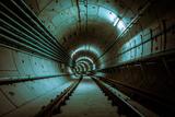 Underground Metro Line Photographic Print by  pictore