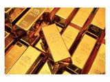 Many Gold Bars or Ingots Prints