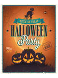 Happy Halloween Party invite Posters