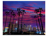 Downtown Night - Los Angeles Prints