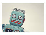 Vintage Tin Toy Robot II Posters