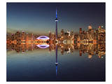 Toronto Skyline & Lake Ontario Prints